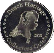 Dutch Heritage Collectors Coin - Euromast – reverse