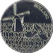 Dutch Heritage Collectors Coin - Holland Windmill – obverse
