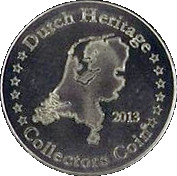 Dutch Heritage Collectors Coin - Holland Windmill – reverse