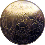 Dutch Heritage Collectors Coin - Keukenhof, Holland – obverse