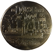 Token - Dordt in Stoom 2014 – obverse