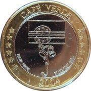 1 E (Cape Verde Euro Fantasy Token) – obverse