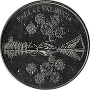 Fallas Valencia (Silver) -  reverse