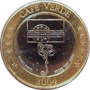 2 E (Cape Verde Euro Fantasy Token) – obverse