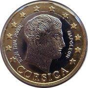 1 E (Corsica Euro Fantasy Token) – obverse