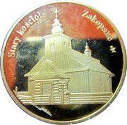 Giewont 1895 m.n.p.m. / Stary Kosciol Zakopane -  reverse