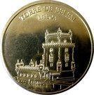 Portuguese Heritage Collectors Coin - Lisboa (Torre de Belém) – obverse