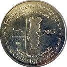 Portuguese Heritage Collectors Coin - Lisboa (Torre de Belém) – reverse