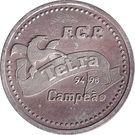Token - Futebol Clube do Porto (Tetra Campeao) – reverse