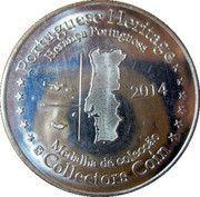 Portuguese Heritage Collectors Coin - Mosteiro da Batalha -  reverse