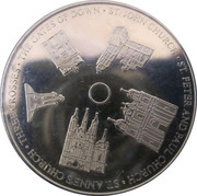 Lithuanian Heritage Collectors Coin - Churches of Lithuania – obverse