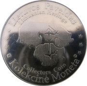 Lithuanian Heritage Collectors Coin - Churches of Lithuania – reverse