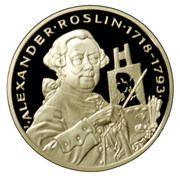 20 Euro (Alexander Roslin) – reverse