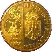 1 ECU - Beatrix (Deventer Mint 1000th Anniversary) -  reverse