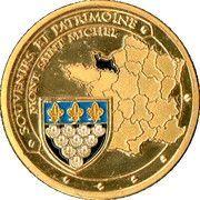Token - Souvenirs et Patrimoine (Mont Saint Michel) – reverse
