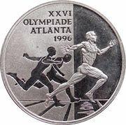 1 ECU - Beatrix (Atlanta summer Olympics) -  reverse