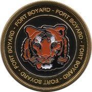 Token - Nemery & Calmejane (Fort Boyard) – reverse