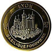 Token - Nemery & Calmejane (Lyon - Cathédrale St-Jean / Basilique Fourvière) – obverse
