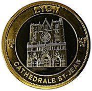Token - Nemery & Calmejane (Lyon - Cathédrale St-Jean / Basilique Fourvière) – reverse