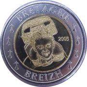 2 E (Brittany Euro Fantasy Token) – obverse