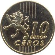 10 Europ Ceros (Bulgaria Euro Fantasy Token) – reverse