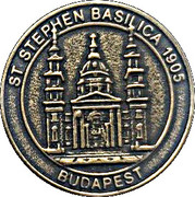 Token - Budapest (St. Stephen Basilica) – reverse