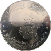 Lithuanian Heritage Collectors Coin - Grand Duke of Lithuania Gediminas – reverse