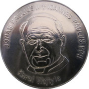 Lithuanian Heritage Collectors Coin - Ioannes Paulus II – obverse