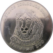 Lithuanian Heritage Collectors Coin - Lithuanian Zoo – obverse