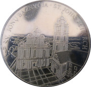 Lithuanian Heritage Collectors Coin - St. John Church – obverse