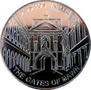 Lithuanian Heritage Collectors Coin - The gate of Dawn – obverse