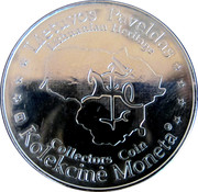 Lithuanian Heritage Collectors Coin - The gate of Dawn – reverse