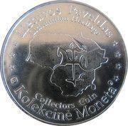 Lithuanian Heritage Collectors Coin - Trakai Island Castle – reverse