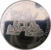 Lithuanian Heritage Collectors Coin - Universitas Vilnensis – obverse