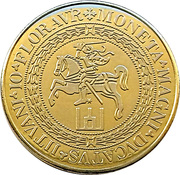 Lithuanian Heritage Collectors Coin - Money Museum – obverse