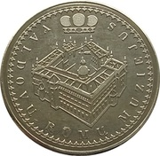 Lithuanian Heritage Collectors Coin - Palace of the Grand Dukes of Lithuania – obverse