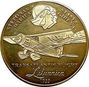 Lithuanian Heritage Collectors Coin - Transatlantic Flight – obverse