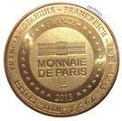 Monnaie de Paris Tourist Token - Lyon (Notre-Dame de Fourvière) – reverse