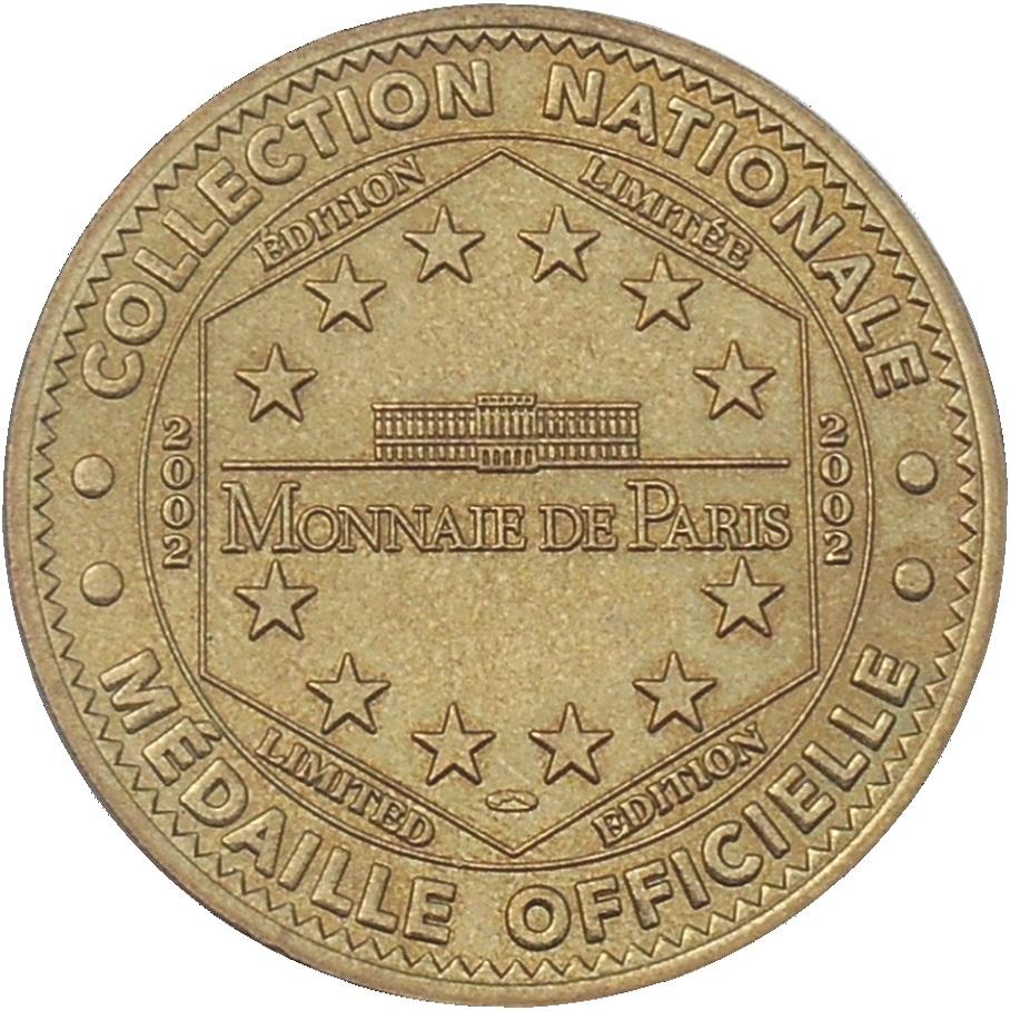 Alu Design Vaison La Romaine monnaie de paris tourist token - vaucluse (musée de vaison