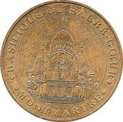 Monnaie de Paris Tourist Token - Basilique du Sacré-Coeur – obverse