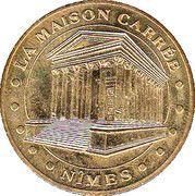 Monnaie de Paris Tourist Token - Nimes (La Maison Carrée) – obverse