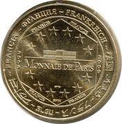 Monnaie de Paris - Vèzelay (Basilique de la Madeleine) – reverse