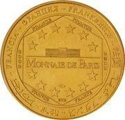 Monnaie de Paris - Bateaux Parisiens – reverse