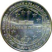 Monnaie de Paris - Vulcania (Dragon ride) – reverse