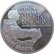 25 ECU - Beatrix (Geert Grote) -  reverse