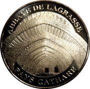 Monnaie de Paris - Abbaye de Lagrasse - Pays Cathare – obverse