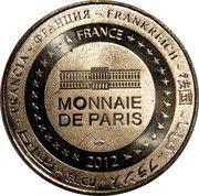 Monnaie de Paris - Abbaye de Lagrasse - Pays Cathare – reverse