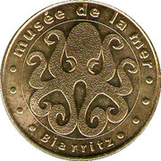 Monnaie de Paris - Biarritz (Le musée de la mer) – obverse