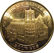 Monnaie de Paris - Cathédrale Saint-Etienne-Bourges – obverse