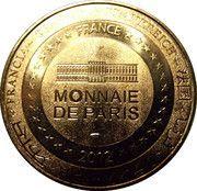 Monnaie de Paris - Cathédrale Saint-Etienne-Bourges – reverse